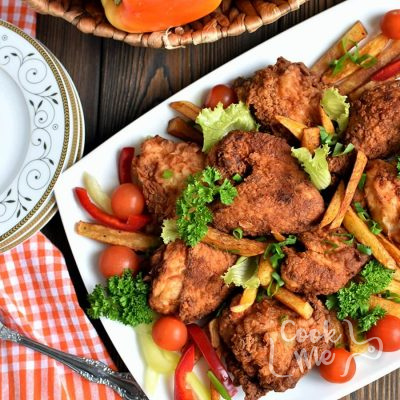 Mama's Fried Chicken Recipe-How To Make Mama's Fried Chicken-Delicious Mama's Fried Chicken