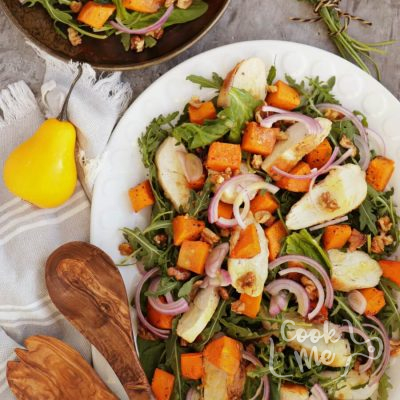 Maple-Roasted Pumpkin and Chicken Salad Recipe-Delicious Maple-Roasted Pumpkin and Chicken Salad-Easy Maple-Roasted Pumpkin and Chicken Salad