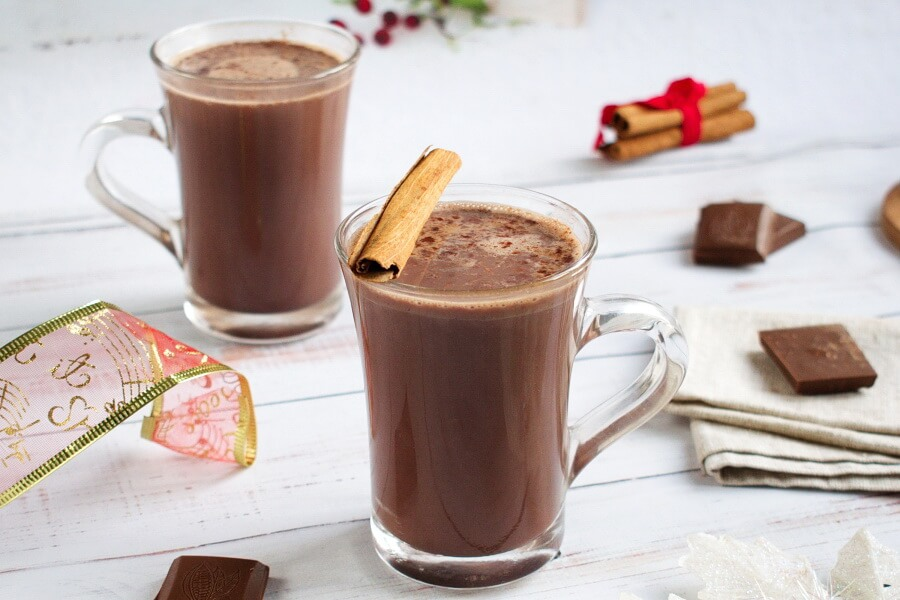 Mexican Hot Chocolate recipe-Chocolate Caliente-How to make Mexican Hot Chocolate
