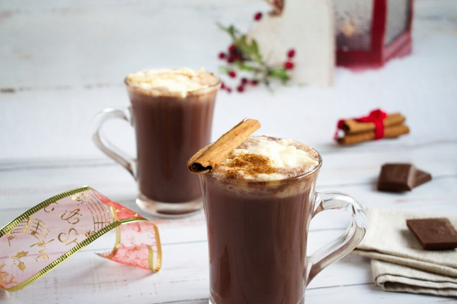 How to serve Mexican Hot Chocolate