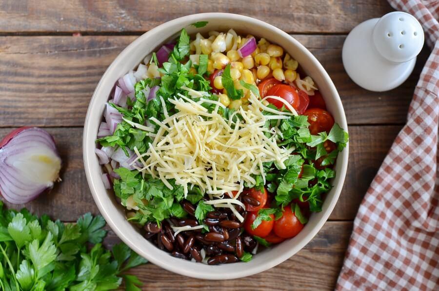 Mexican Pasta Salad with Creamy Avocado Dressing recipe - step 4