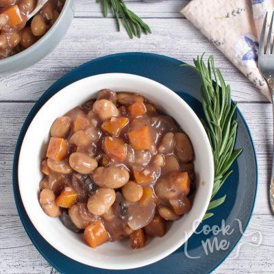 Mushroom-Bean Bourguignon recipe-Mushroom & Bean Bourguignon-Bean Bourguignon