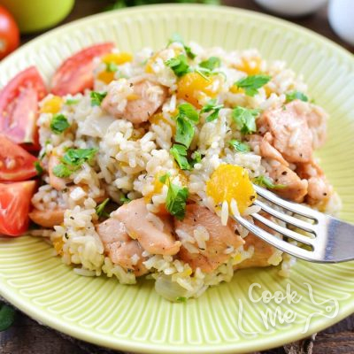 One Pot Chicken and Pumpkin Rice Recipe-How To Make One Pot Chicken and Pumpkin Rice-Delicious One Pot Chicken and Pumpkin Rice