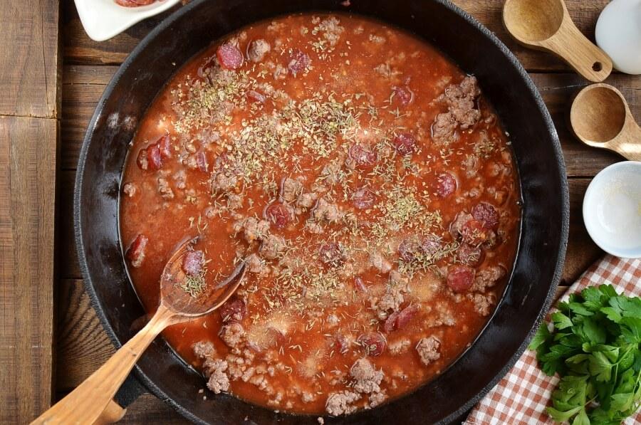 One Pot Pizza Pasta Bake recipe - step 4