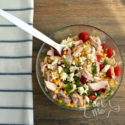 Orzo Chicken Salad with Avocado-Lime Dressing recipe - step 2