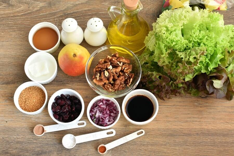 Ingridiens for Pear Balsamic Salad