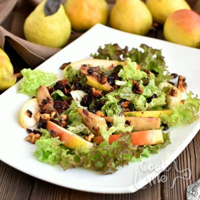 Pear Balsamic Salad Recipe-How To Make Pear Balsamic Salad-Delicious Pear Balsamic Salad