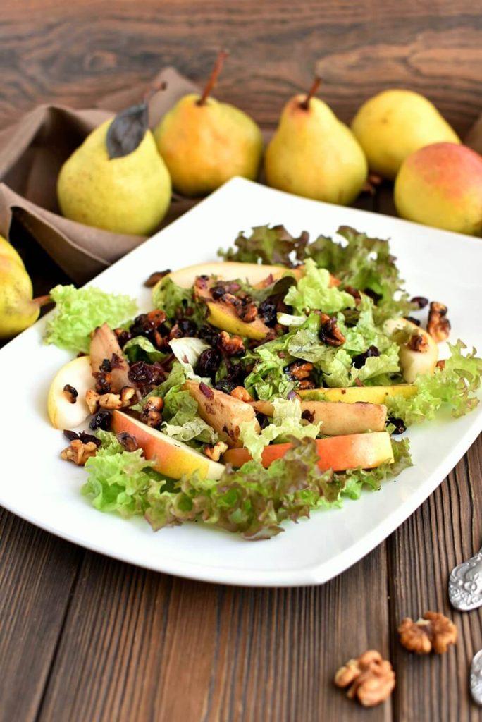 Pear Balsamic Salad