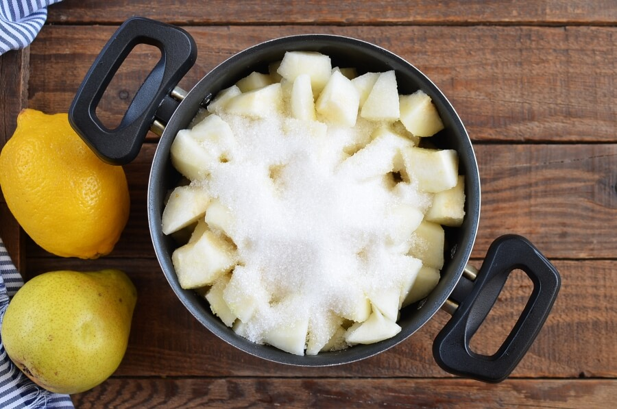 Pear Preserves recipe - step 1