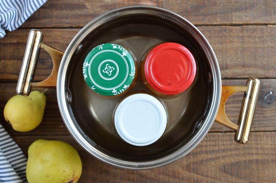 Pear Preserves recipe - step 4