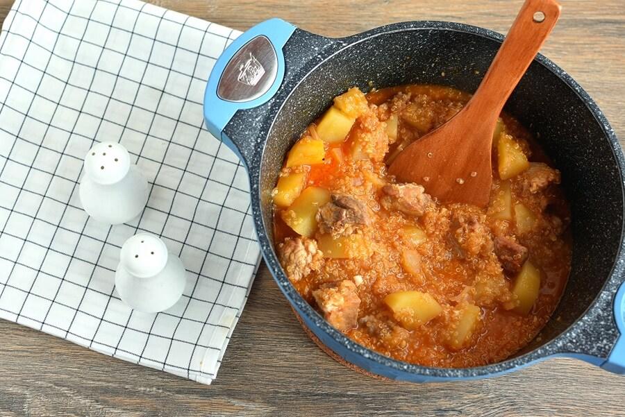 Pork and Quinoa Stew recipe - step 6