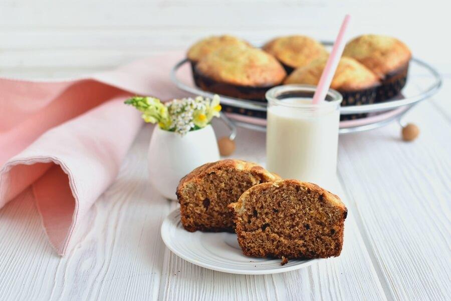 How to serve Pumpkin Cream Cheese Swirl Muffins