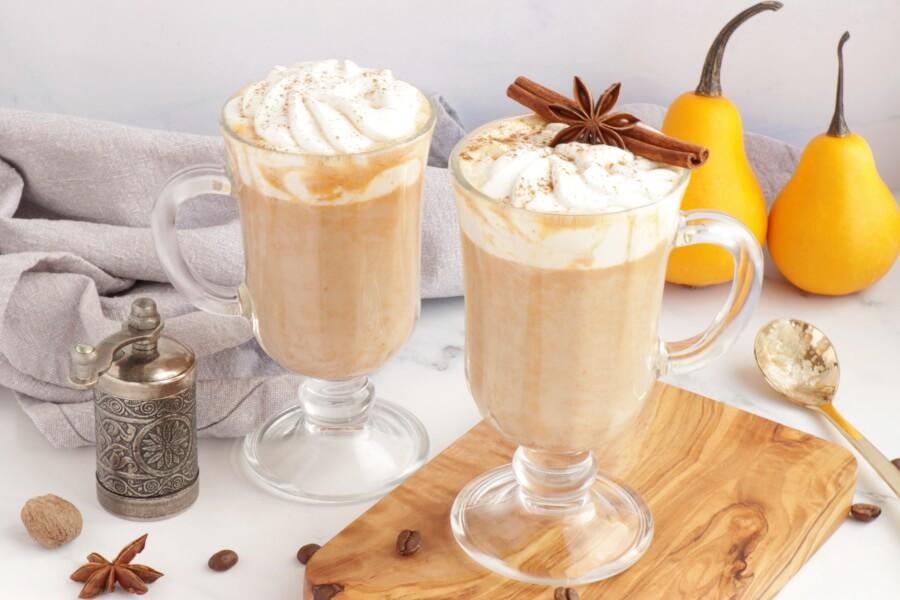 How to serve Pumpkin Pie Latte