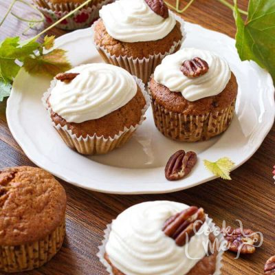 Pumpkin passion cupcakes recipe-How to make Pumpkin passion cupcakes-Delicious Pumpkin passion cupcakes