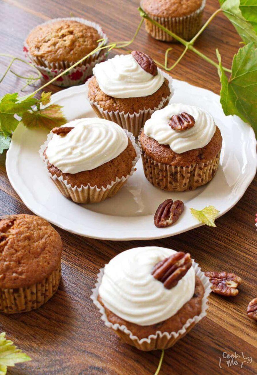 Pumpkin passion cupcakes