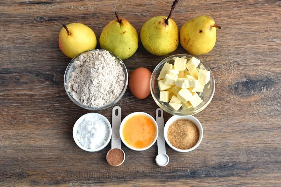 Ingridiens for Rustic Pear Pie