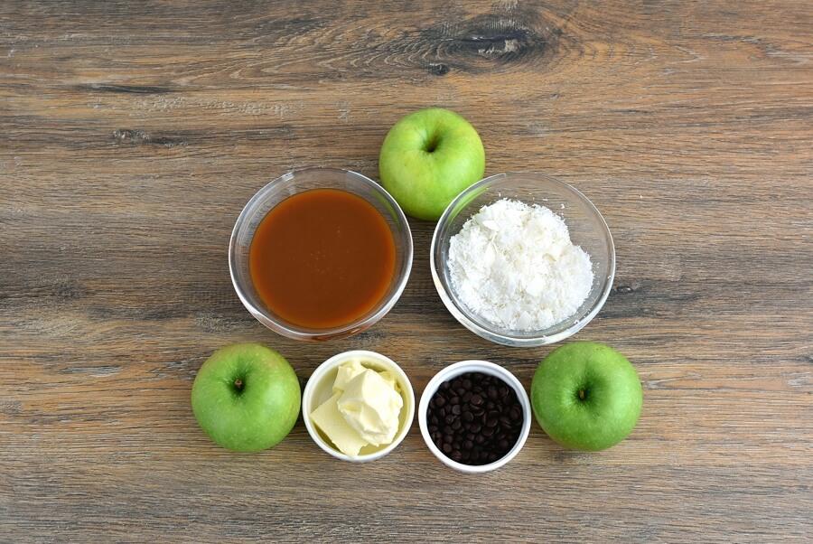 Ingridiens for Samoa Apple Slices