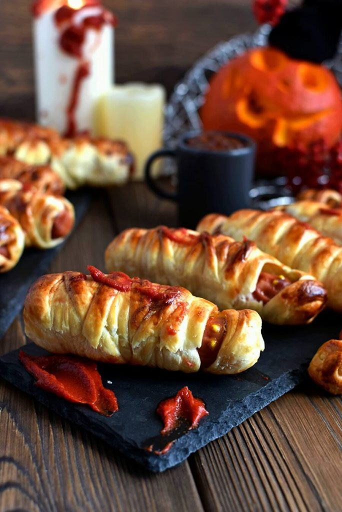 Halloween, Sausage in a Blanket