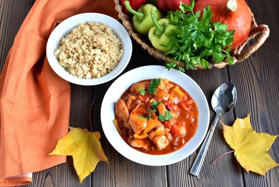 How to serve Gluten Free South West Turkey Stew