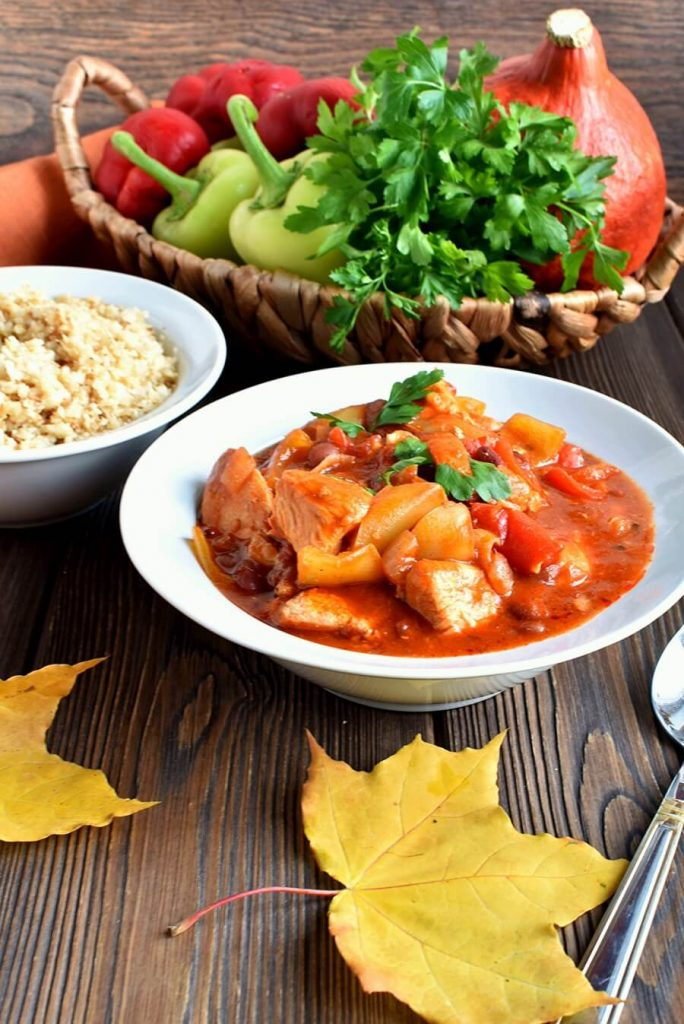 Turkey Tenderloin and Vegetable Stew