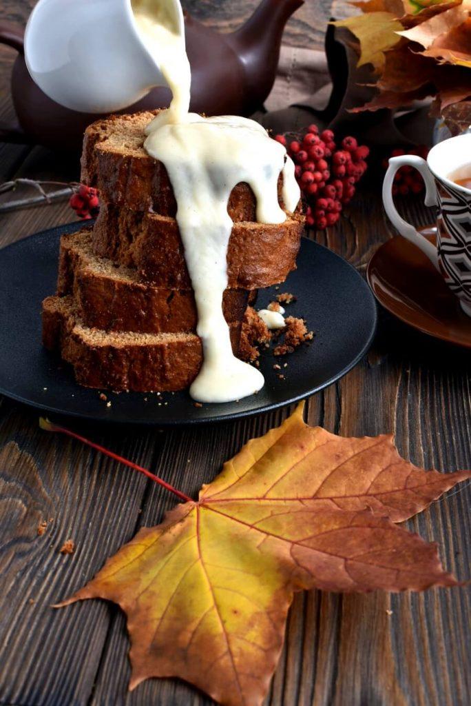 Coffee, Cinnamon and Gingerbread Cake