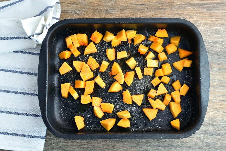 Sweet and Spicy Butternut Squash Pizza recipe - step 5