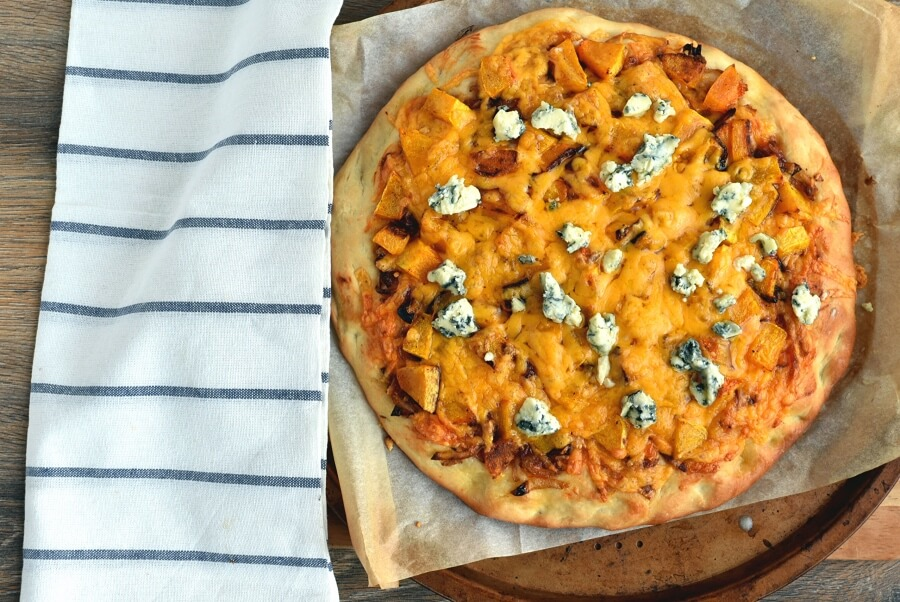 Sweet and Spicy Butternut Squash Pizza recipe - step 14