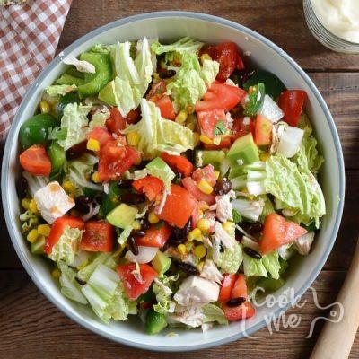 Tex-Mex Chopped Chicken Salad recipe - step 1