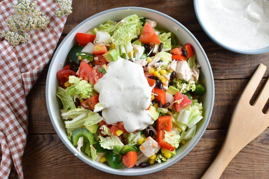 Tex-Mex Chopped Chicken Salad recipe - step 3