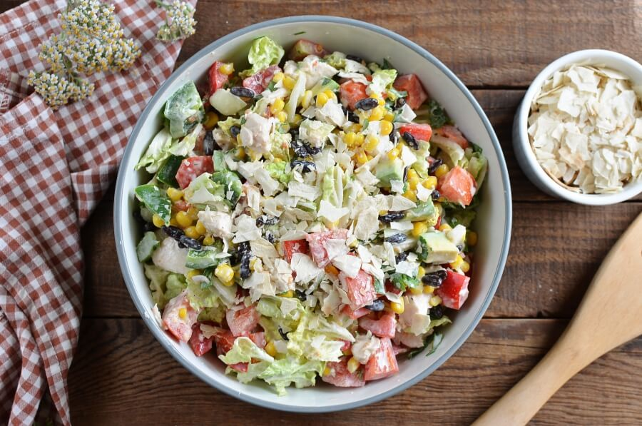 How to serve Tex-Mex Chopped Chicken Salad