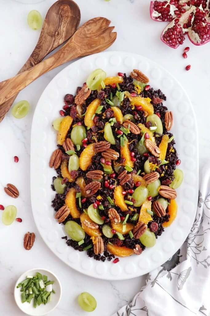 The Best Wild Rice Salad with Grape