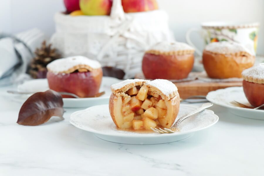 Apple Pie in the Apple Recipe-Apple Pie Baked Apples-Best Apple Pie Baked Apples