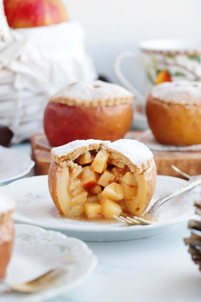 Baked apples with an unusual twist