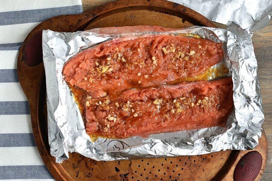 Asian Salmon in Foil recipe - step 4