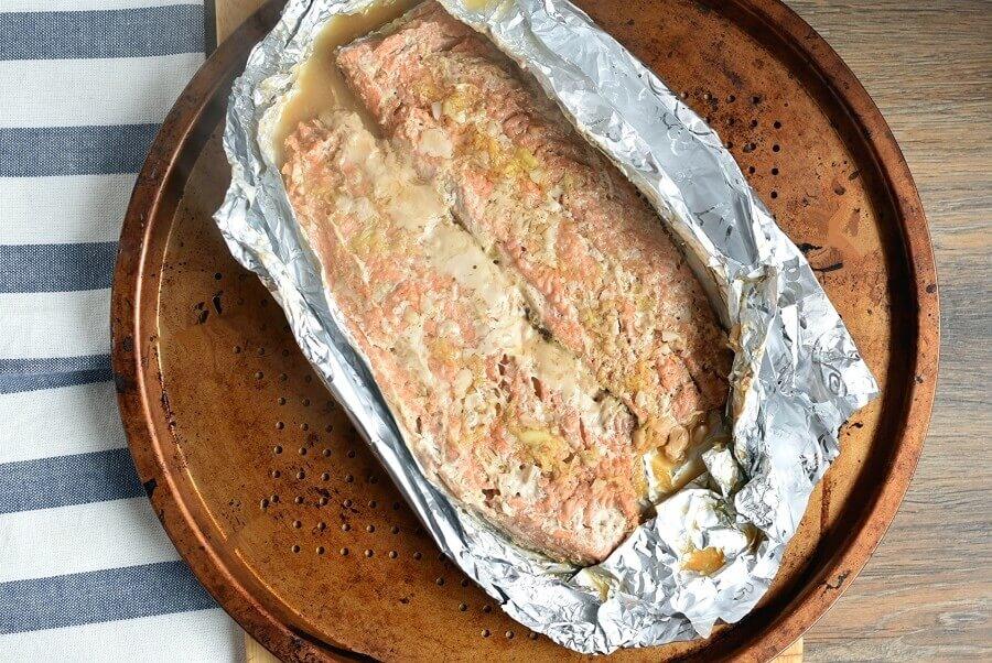 Asian Salmon in Foil recipe - step 5