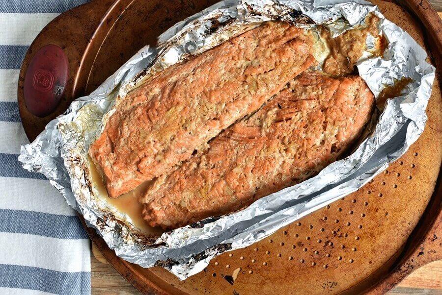 Asian Salmon in Foil recipe - step 6