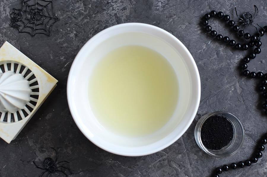 Black Lemonade recipe - step 1