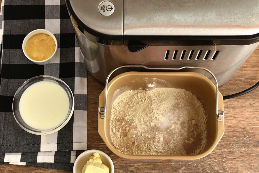 Bread Machine Honey Buttermilk Bread Recipe - Cook.me Recipes