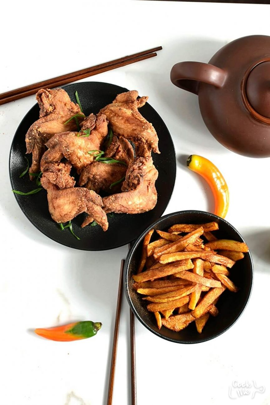 Chinese Fried Chicken Wings