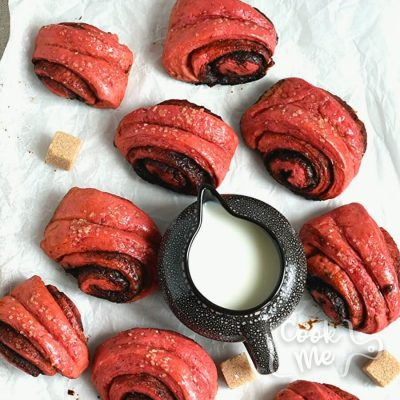 Cinnamon Beet Rolls Recipe-How To Make Cinnamon Beet Rolls -Delicious Cinnamon Beet Rolls