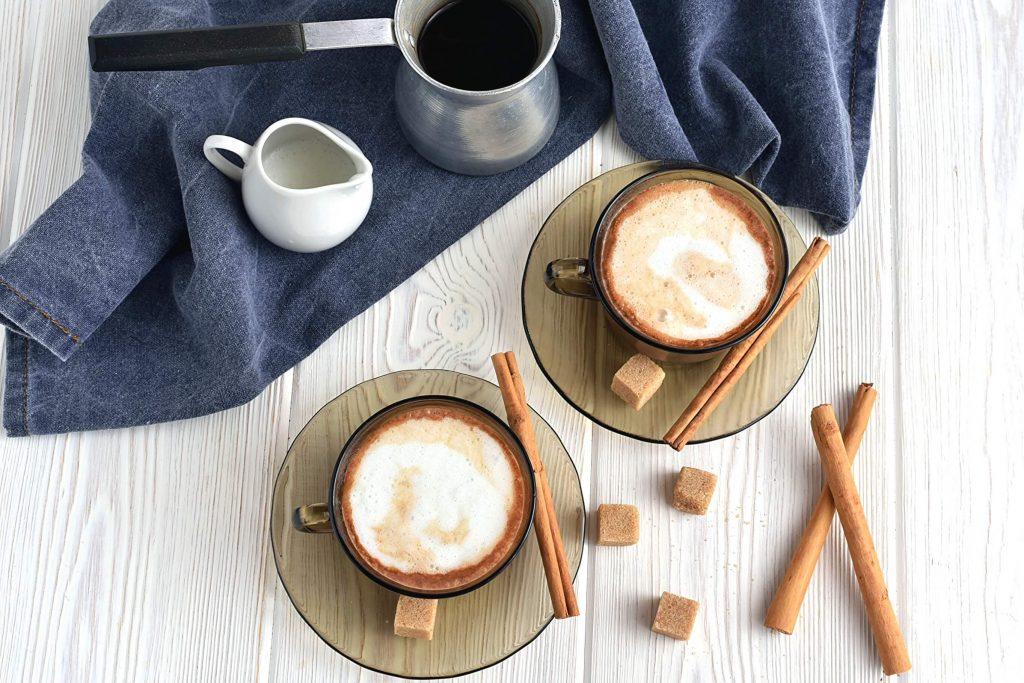 How to serve Cinnamon Mocha Coffee