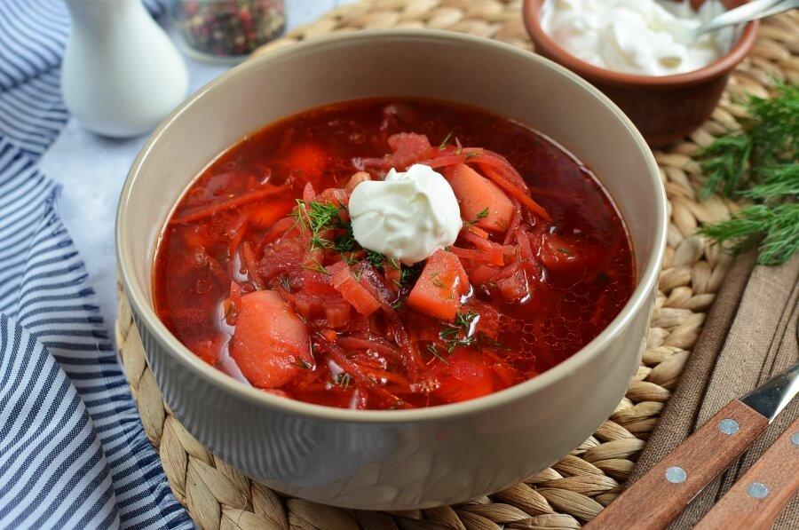 Classic Borscht Recipe (Beet Soup)-How To Make Classic Borscht Recipe (Beet Soup)-Delicious Classic Borscht Recipe (Beet Soup)