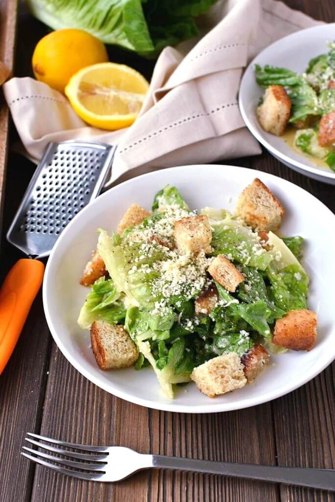 Fresh and Tasty Caesar Salad