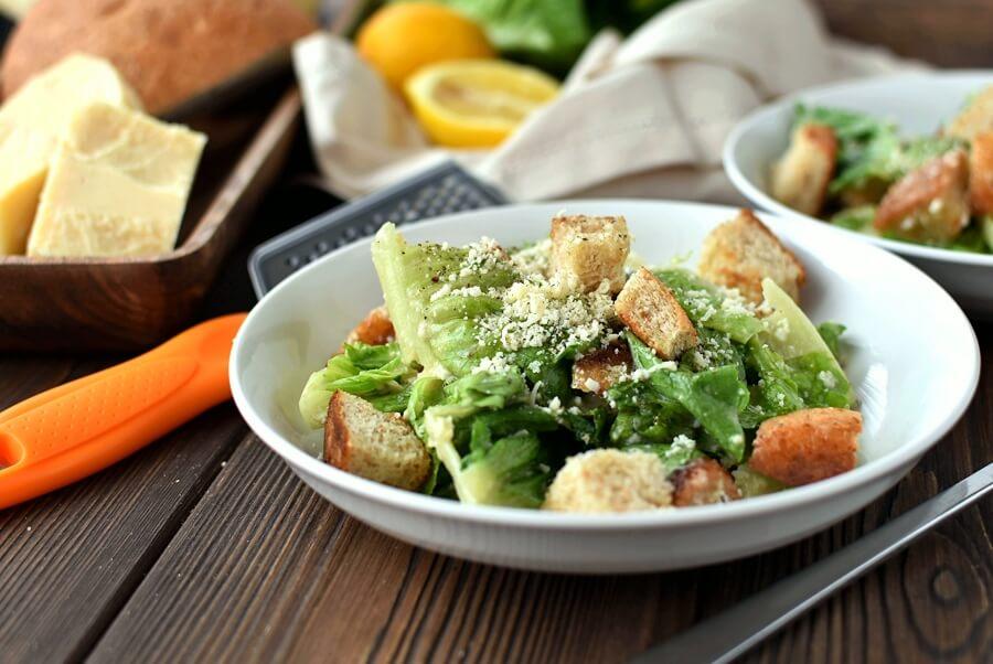How to serve Classic Caesar Salad