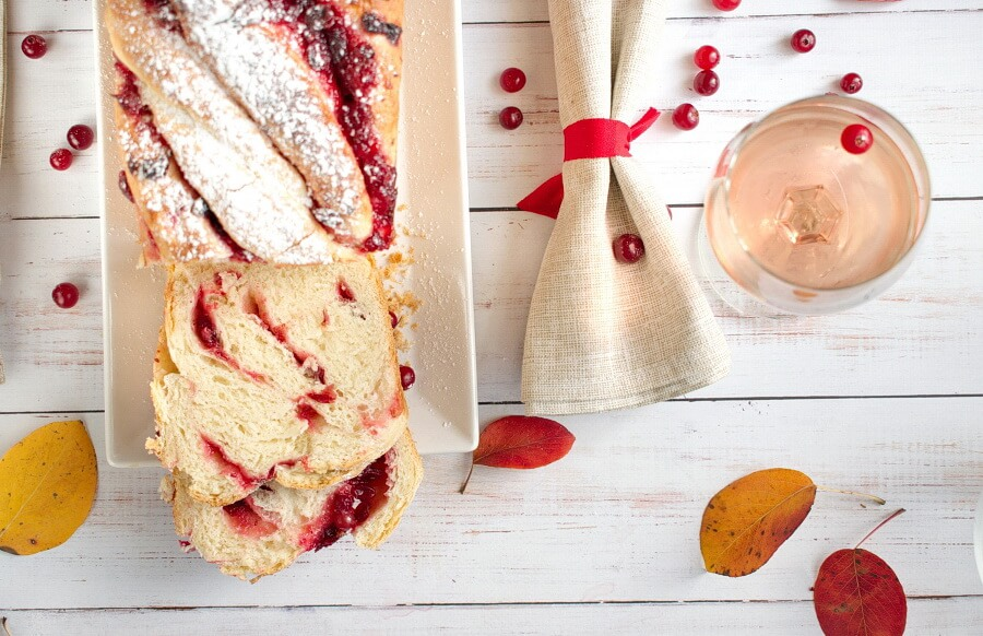 How to serve Cranberry Swirl Bread