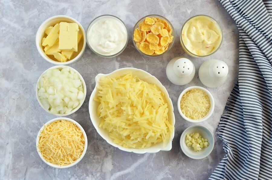 Funeral Potatoes (Utah Potato Casserole) Recipe-How To Make Funeral Potatoes (Utah Potato Casserole)-Delicious Funeral Potatoes (Utah Potato Casserole)