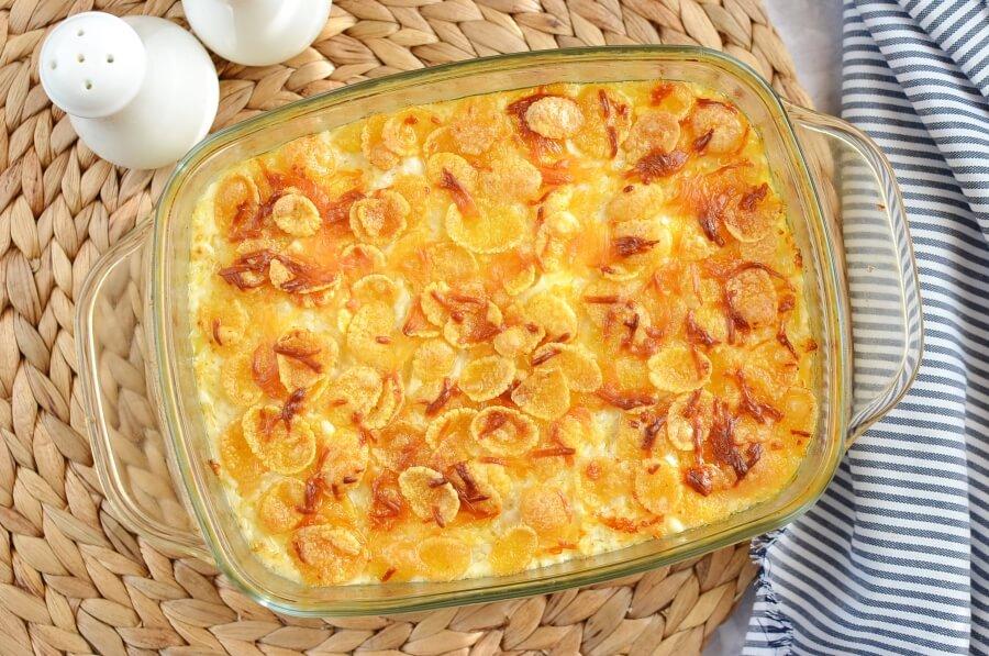 Funeral Potatoes (Utah Potato Casserole) recipe - step 6
