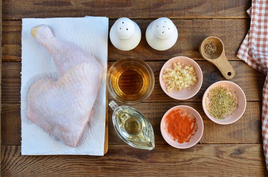 Garlic Roasted Chicken Leg Quarters Recipe-How To Make Garlic Roasted Chicken Leg Quarters-Delicious Garlic Roasted Chicken Leg Quarters