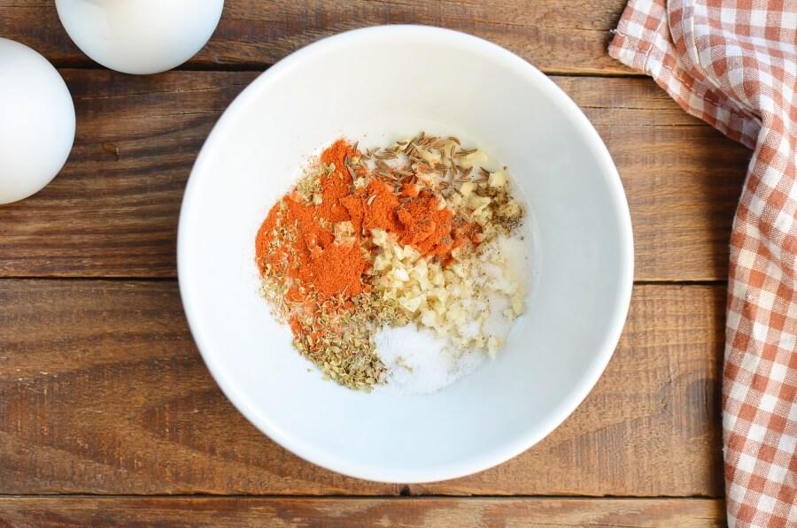 Garlic Roasted Chicken Leg Quarters recipe - step 2