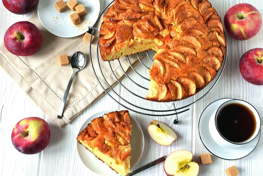 How to serve German Apple Cake